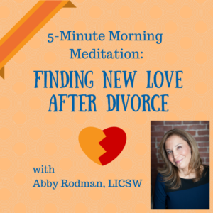 How to Find Love After Divorce