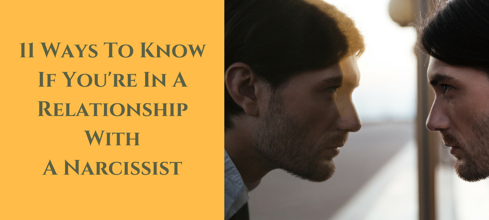 how to tell your in a relationship with a narcissist